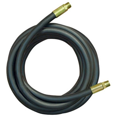 Apache 98398238 3/8' x 48' 2-Wire Hydraulic Hose Male x Male Assembly