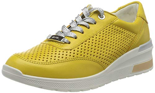 ara Damen NEAPLE Sneaker, Gelb (Yellow 07), 37 EU