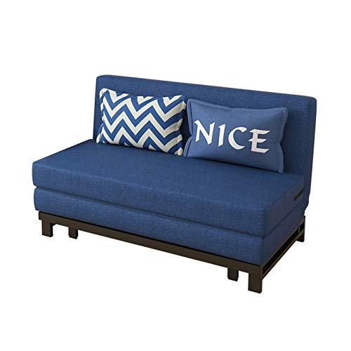 HLZY Sofá Cama Sleeper Convertible Lounge Futon Sofá, Sofá Cama Plegable Robusta y Duradera, sofá reclinable Suave futón, sofá Cama para dormitorios (Color : 150cm)