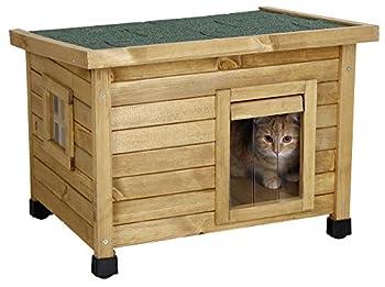 Kerbl Rustica Maison pour Chat, 57 x 42 x 45 cm