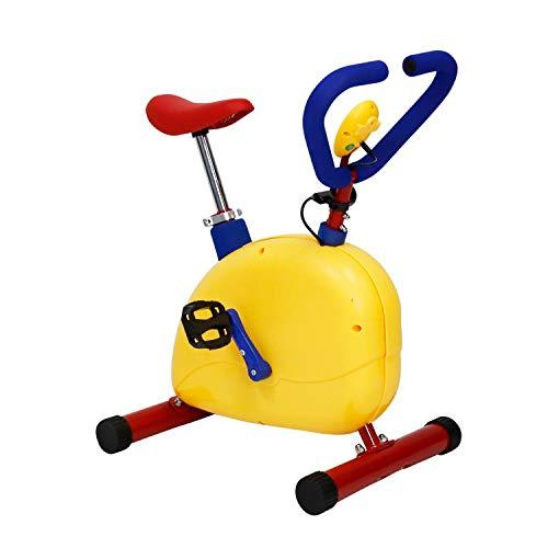 Bicicleta estática para niños - Ajuste velocidad múltiple Mini Spin Indoor Kids Proform Bicicleta estática, Mini bicicletas ejercicio para niños pequeños, Bicicletas estáticas niños de 3 a 8 años