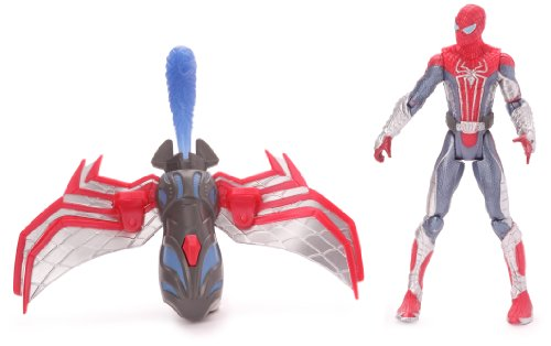 Spider-Man - 50571 - Figurine - Spiderman Action - Aéroglisseur!