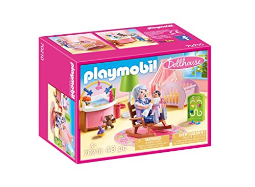 Playmobil Dollhouse - Quarto do Bebé - 70210