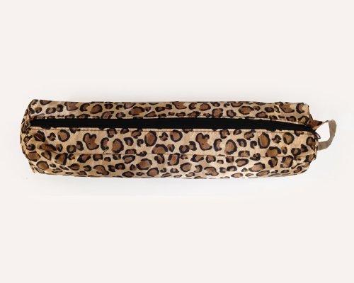 ionco Bolsa de almacenamiento para alisadores de pelo, resistente al calor, diseño de leopardo clásico