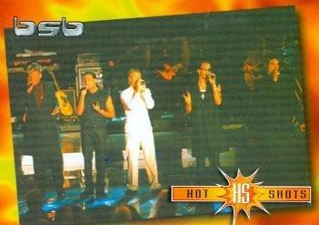 Backstreet Boys trading card 2000 WL #13 AJ McLean Nick Carter Kevin Richardson Brian Littrell Howie D