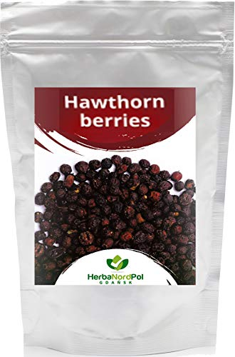 HerbaNordPol Weißdornfrüchte, Weißdornbeeren getrocknet, ganz 900g