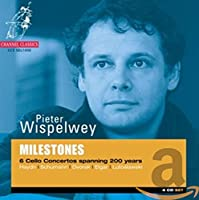 Milestones-Six Cello Concertos Spanning 200 Years