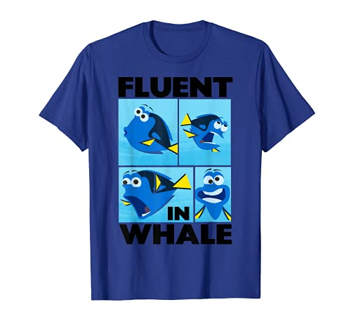 Disney Finding Dory Fluent in Whale Graphic T-Shirt