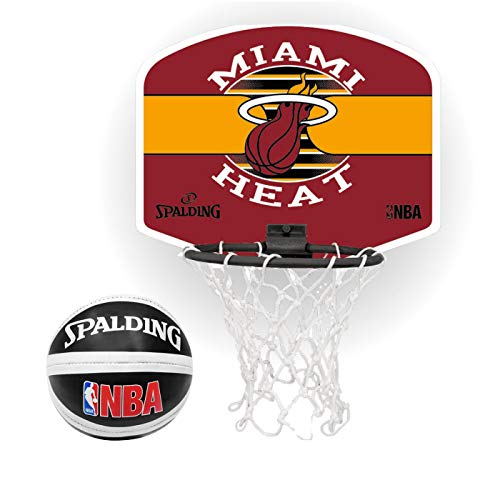 Spalding NBA Team Backboard Miami Heat