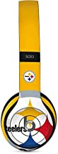 Skinit Decal Audio Skin for Beats Solo 2 Wired - Officially Licensed NFL Pittsburgh Steelers Large Logo Design