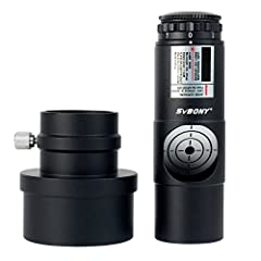 """SVBONY user adjustable laser collimator;allows anyone easily collimate 1.25'' and 2'' reflector telescopes;come with removable 2"""" adapter;built with metal material;make alignment no longer boring and time consuming Easy to use;accurate collimation in..."""