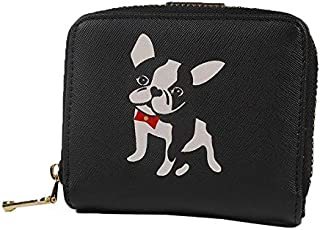 moca ute DOG womens little Girls Wallet Womens Girls Ladies Female Short Mini Small Clutch Wallet purse for womens Women's Ladies