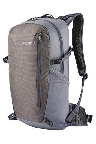 Marmot Kompressor Star Sac à Dos de Trekking Ultra Léger, Spacieux avec Une capacité de 28 L, Poids de 755 G Seulement Cinder/Slate Grey FR: Taille Unique (Taille Fabricant: 28 L)