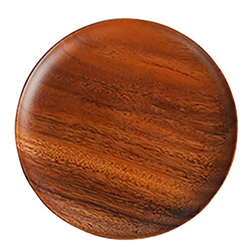 Cuenco especial para cocina de inducción fabricado Placa de madera placa de madera placa de madera placa de ensalada de cocina irrompible vajilla de cereales placa de sopa de pasta de arroz placa de e