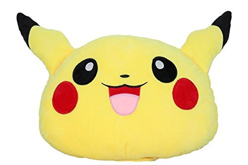 Cartoon Anime Sailor Moon / Pokemon Pikachu LED Light Up 7 Colorful Soft Pillow Plush Cushion (Pokemon) by Bonamana