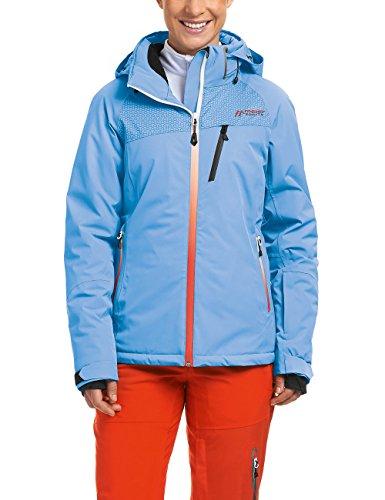 Maier Sports Damen Skijacke Wattiert Calafate, Marina Blue, 36