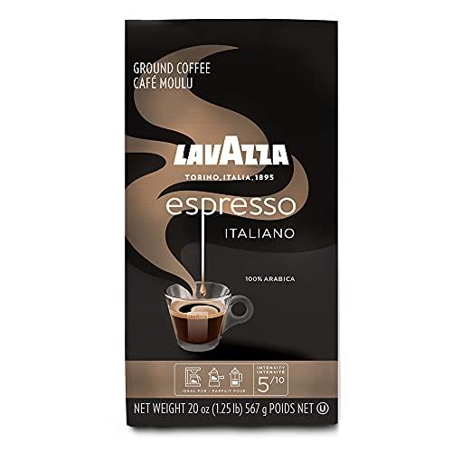 Lavazza Espresso Italiano Ground Coffee, 100% Arabica, 20 Oz Soft Bag,...