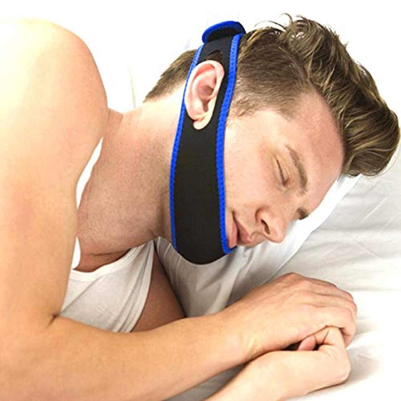 NOTE 抗いびき鼻清浄機鼻拡張器息をしやすいAntiSnoreチンストラップ抗いびきマウスピースストップいびきコーン渋滞補助