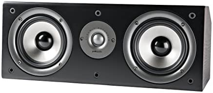 Polk Audio CS1 Series II Center Channel Speaker | Unique Design | Stand Alone or a Complement to Monitor 40, 60, and 70...