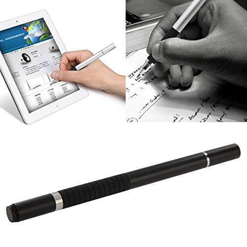 GUPENG Stylus Pen for Touchscreen, 2 in 1 Stylus Touch Pen + Ball Pen, for iPhone 6 & 6 Plus / 5 & 5S & 5C/ iPad Air 2 / iPad mini 1/2 / 3 / New iPad (iPad 3) (Color : Black)