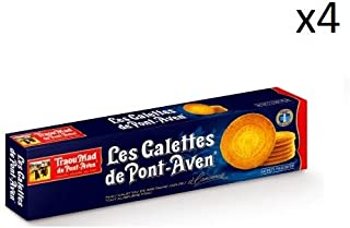 French Pancakes From Pont Aven Traou Mad-Galettes De Pont Aven-4 Can Pack