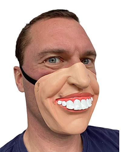 Rubber Johnnies TM Blague Dents Masque Latex Film FX Quality Déguisement Masquerade