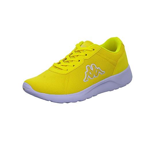 Kappa Damen Tunes W Sneaker, Gelb (Yellow 4040), 39 EU