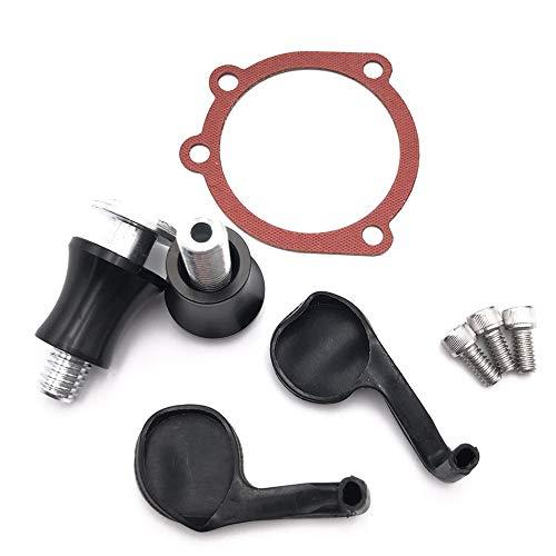 Xingfuqy Schwarz RSD-Motorrad-Teile CNC Luftfilter Filter Motorrad Turbine for Harley Sportwagen XL1200 72 48 XL883 Eisen 883 1991-2019 Auf dem neusten Stand