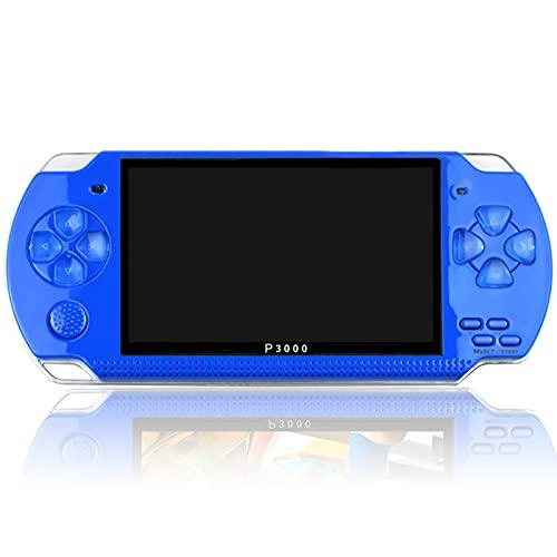 XUANWEI Console de jogo portátil portátil de 4,3 polegadas Console de videogame portátil HD Screen Video Game, MP5 Player compatível com 128 bits de memória de 8 GB