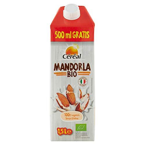 Céréal Bevanda Latte Mandorla Biologica, senza lattosio, senza glutine - 1,5 L