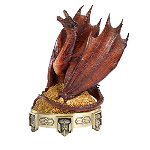 Noble Collection- Smaug Brûleur d'Encens Le Hobbit La Désolation Figurine, 849241002707, Rot