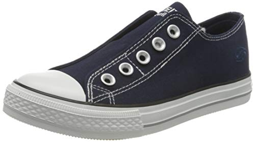 Dockers by Gerli 36ur202-710, Women's Low-Top Sneakers, Blue (Navy 660), 6.5 UK (40 EU)