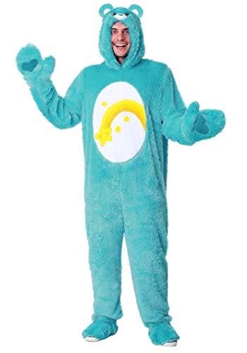 Care Bears Wish Bear Costume for Adults Medium Blue