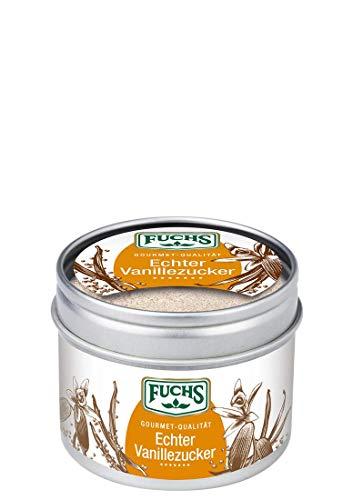 Fuchs Gewürze Echter Vanillezucker, 3er Pack (3 x 70 g)