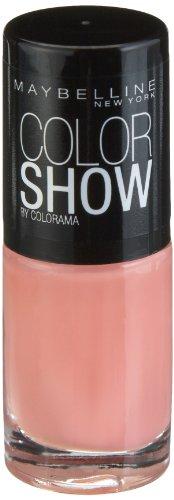 Maybelline New York Make-Up Nailpolish Color Show Nagellack Peach Smoothie / Ultra glänzender...
