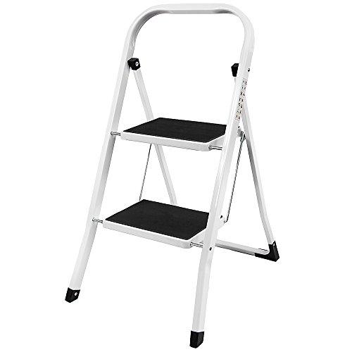 Hem Vida Modern 2 Step Ladder With Anti-Slip 2 Step Ladder