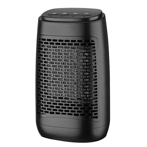 Heater Portable Mini Fan, 3 seconds fast heating Bathroom electric, Low Noise Hot and cold fan,3 Heat Settings,Over-heat & Tip-over Protection