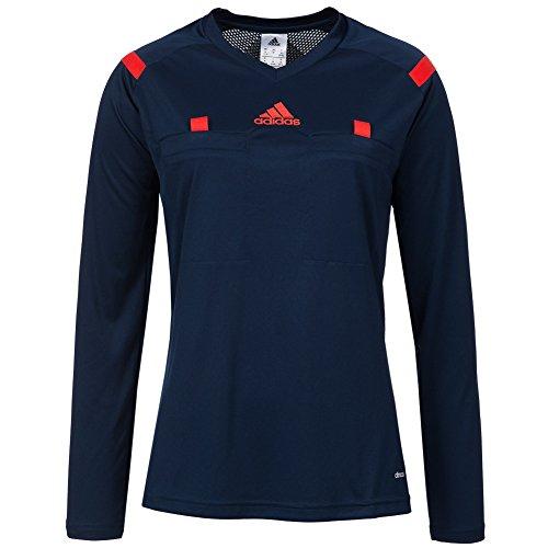 adidas Mujer árbitro en Jersey - Jerseys Negro del fútbol - L