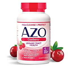 MAINTAIN A HEALTHY URINARY TRACT. Taking AZO Cranberry softgels as part of your daily routine can help maintain a healthy urinary tract health URINARY TRACT BENEFITS OF ONE GLASS OF CRANBERRY JUICE in just 1 serving of AZO Cranberry softgels SUGAR FR...