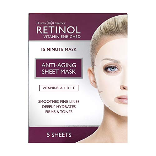 Retinol Anti-Aging Schönheitsmaske, 5 Masken