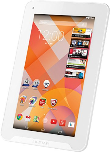 Medion E7231 MD 99393 is/DS 4055432012110 17,8 cm (7 Zoll) Tablet-PC (AMD A Series ARM Cortex A9 Quad-Core Prozessor, 1,6GHz, 1GB RAM, 16GB HDD, Android) weiß