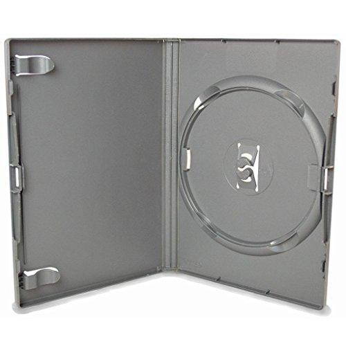 AGI AMARAY 1 x individual para DVD estuche negro lomo de 14 mm - paquete de 1