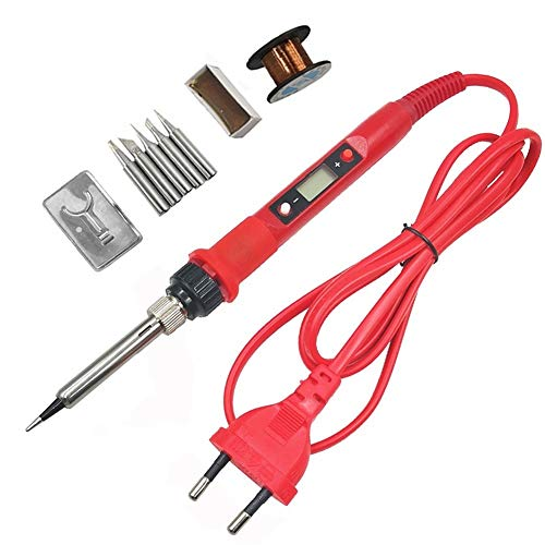 Plancha eléctrica 60W / 80W soldador eléctrico 220V Temperatura Ajustable Estación de...