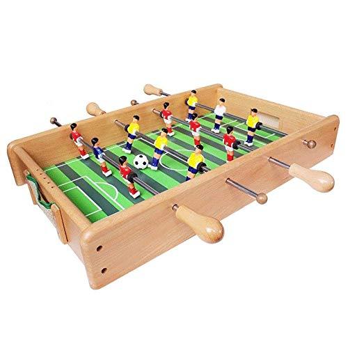 WCJ Tabletop-Fußball-Fußball Pinball Spiele, Fußbälle & Hockey 2 in 1 Tabelle Spiel Indoor-bewegliches Sport-Tabelle-Brett for Kinder und Familie, 53 * 33 * 8cm