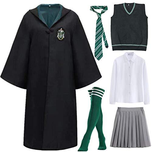 Kajikaji Magic Academy Capa Set de vestuario para Mujeres METRO Verde3hembr a