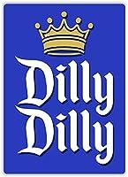 ディリーディリーアイアンシートビールバーヴィンテージ装飾サインメタルロックロールウォールサイン面白いレトロプラークアートクラフトカフェぶら下げアートワークサンプポスター絵画