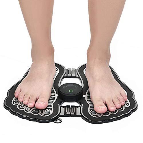 NOLO Shiatsu Fußmassagegerät, Faltbare EMS-Fußmatte-Muskel-Entspannung Lindern Stressschmerzen für Zuhause Und Büro