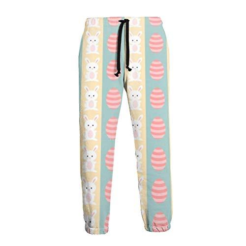Amanda Horatio Easter - Pantalones deportivos deportivos para hombre grandes y altos