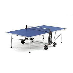 Cornilleau - Mesa de Ping-Pong Sport 100S Crossover, para Exteriores, Azul, única