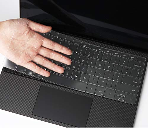 KeyCover - Ultra Thin Keyboard Cover Compatible with 13.4' Dell New XPS 13 9300 FHD InfinityEdge Touch-Screen Laptop - TPU